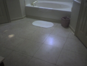 bathroom floor tile, Germantown, TN