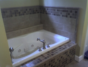 tile tub surround, Eads, TN