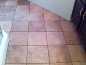 tumbled marble bathroom floor tile, Memphis, TN