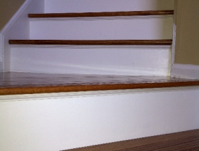 red oak stair tread replacement, Cordova, TN