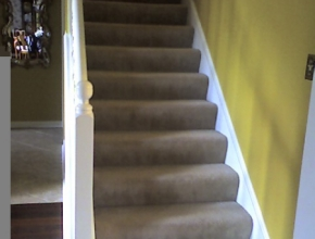 stair tread replacement before, Collierville, TN