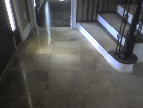 travertine foyer floor, Eads, TN