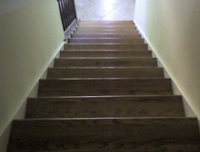 red oak stair tread replacement, Germantown, TN