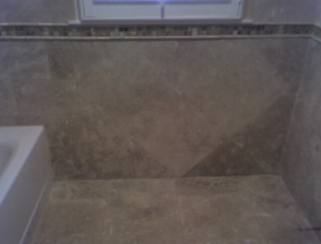 travertine bathroom, Memphis,TN