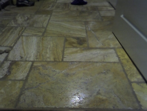 Versaille pattern travertine floor, Germantown, TN